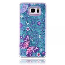Galaxy Note 5 Liquid Case,Butterfly Flower Faery Series Colored Drawing ... - $9.78