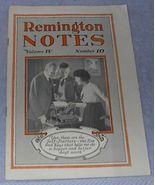 Antique 1919 Remington Typewriter Advertising Magazine - $6.00