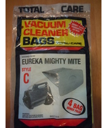 Eureka Mighty Mite Vacuum Cleaner Bags by Total Care Style C 4 Bags - $4.99