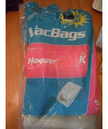 Hoover Canister Type K Vacbags Ultra Light 13 Bags - $8.99