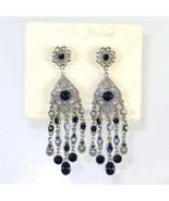 Tara Jewels Designer Long Chandelier Earrings B... - $20.78