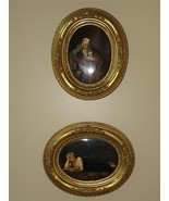 2 Antique KPM Porcelain Plaques Penitent Magdalene and Columbus in Chain... - $7,920.00