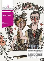 Anita Goodesign Embroidery Machine Designs CD True Love - $30.84