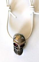 Halloween gift Skull Pendant - $38.56