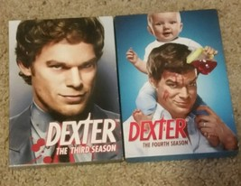 Dexter Complete Third and Forth Season DVD  - $19.72