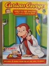 Curious George Goes To The Doctor And Lends A Helping Hand! (DVD, 2008)  - $8.16