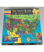 Great American Puzzle Factory Faces Places United States America 100 Pie... - $28.73