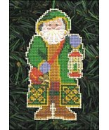 Father Christmas Olde Time Santa Ornament kit christmas perforated paper  - $5.40