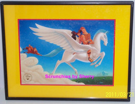 Disney Store Hercules Lithograph Framed Gold Seal Picture Photo Retired Vintage - $69.95