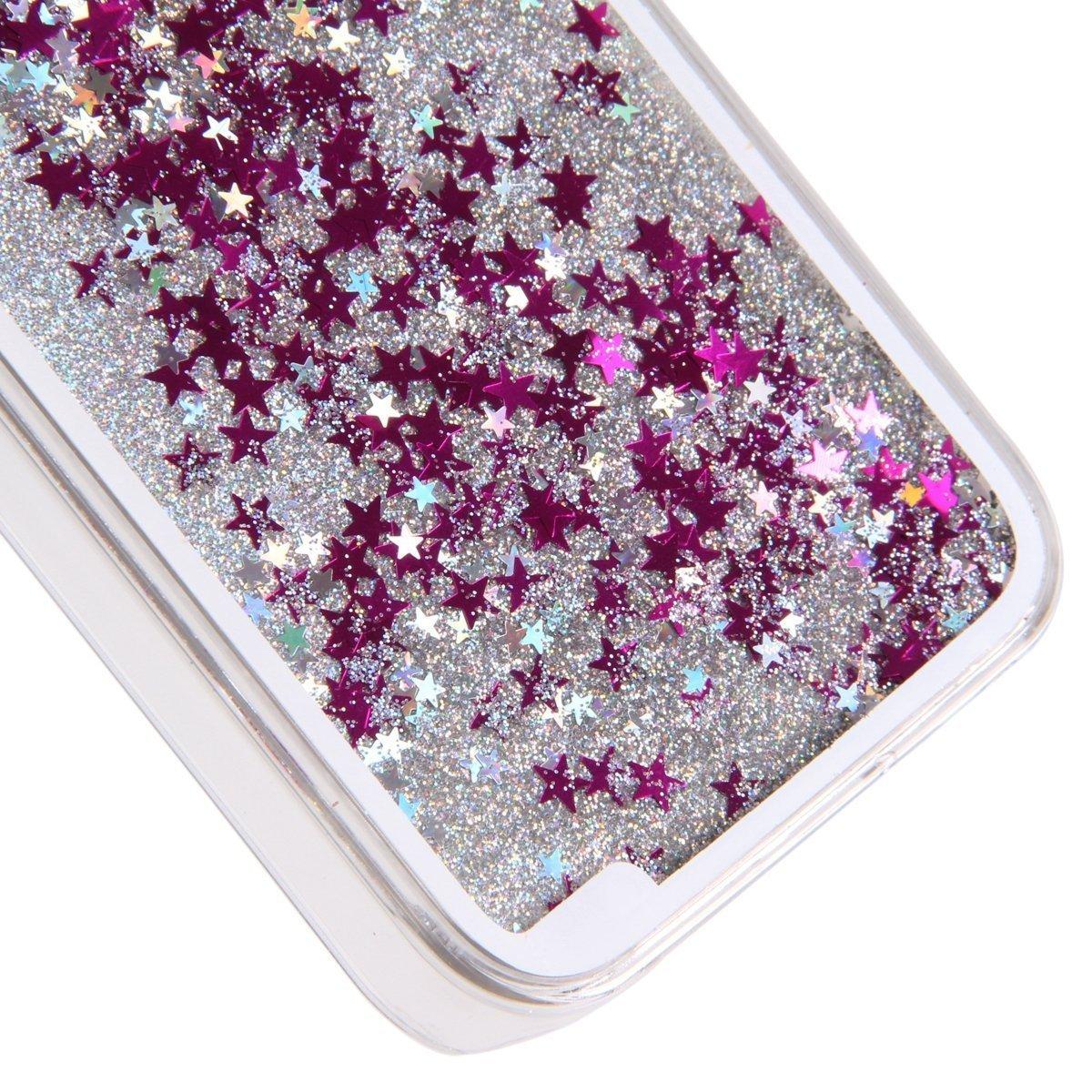 Galaxy A710 2016 Case,Creative Design Dynamic Flowing Bling Glitter Quicksand...