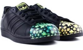 NEW Black Adidas Pharrell Williams Supershell Superstar Mens Shoes 11 Fl... - $93.49