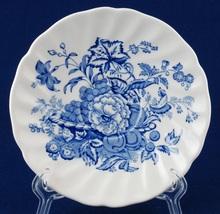 Royal Doulton The Kirkwood Blue Orphan Saucer D6314 Blue & White Floral/... - $5.00