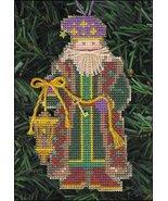 Grandfather Frost Olde Time Santa Ornament kit ... - $5.40