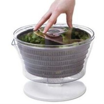 Progressive PL8-1700 4 Quart Easy Press Salad Spinner Mixer Tosser PL8 - $30.77
