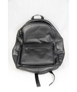 Backpack, Coach Unisex Black Pebble Leather Backpack with Cushioned Straps - $247.50