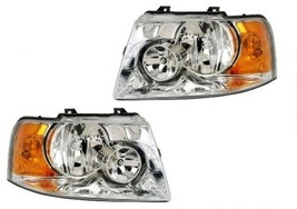 COUNTRY COACH INTRIGUE 1996 1997 1998 PAIR HEADLIGHTS HEAD LIGHTS FRON LAMPS RV