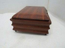 "Made in Italy Musical Wooden Jewelry Box 7.5"" x 5.5"" - $22.72"