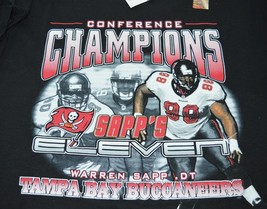 Tampa Bay Buccaneers Sapp's Eleven NFC Conference Champions Shirt XL 200... - $9.74