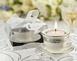 60 Teacups and Tealights Miniature Porcelain Tealight Holders - $175.41
