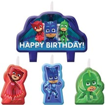 amscan PJ Masks Birthday Candles, One Size, Blue, Red, Green - $53.24