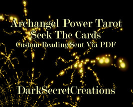 Archangel Power Tarot Reading, Sent Via PDF, In Depth Psychic Tarot Reading - $5.00+