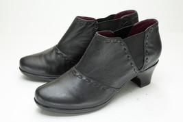 abeo 9 Black Chelsea Western Ankle Boots Women's - $98.00