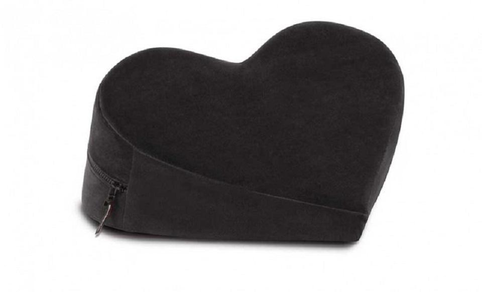 Liberator Heart Wedge Sex Positioning Pillow- Black
