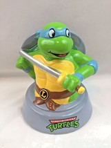 Teenage Mutant Ninja Turtle  LEONARDO Piggy Bank for Coins New - $18.69