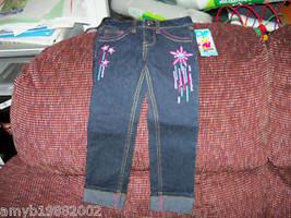 Disney Shooting Star Jeans Size 6X Girls NEW HTF - $16.80