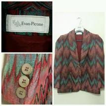 Evan Picone Woman's Size 8 Multi-Color Southwes... - $24.74