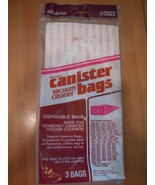 Sears Kenmore Canister Vacuum Cleaner Bag Part # 20-5023  3 Bags - $7.99