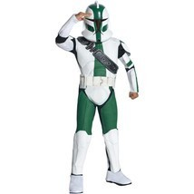 Star Wars The Clone Wars Commander Gree Armor Trooper Boy Kid Halloween ... - $25.00