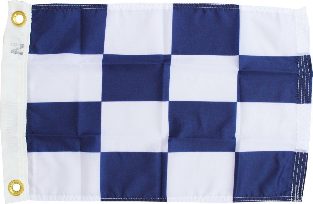 Letter N - Nautical Code Signal Nylon Flag