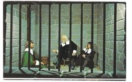 Plymouth MA Wax Museum Boston Jail Massachusetts England Vintage Postcard - $4.99