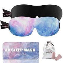 PrettyCare 3D Sleep Mask New Design - Aurora Blue and Black Eye Mask for... - €16,03 EUR