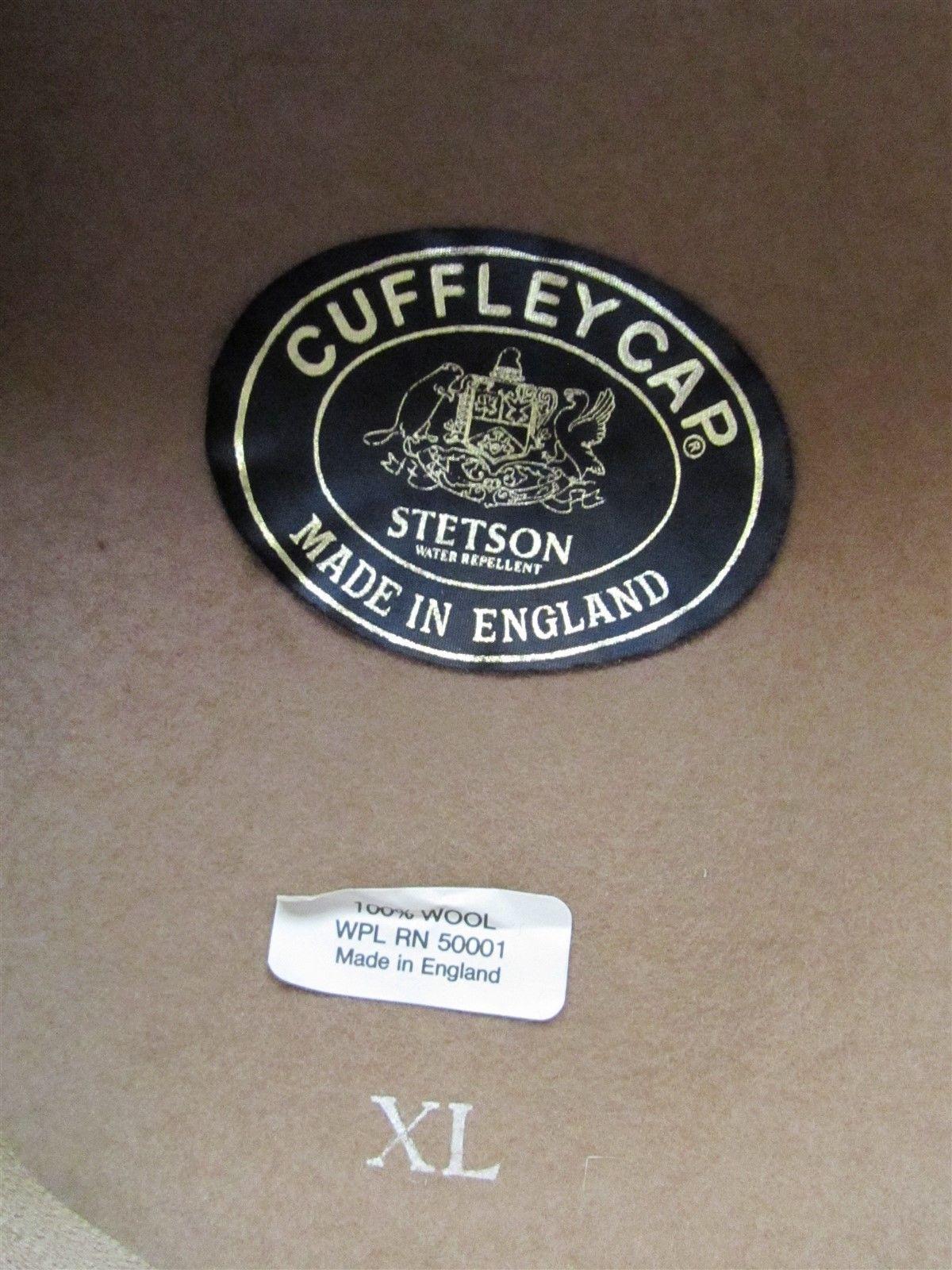 c7ab1b50a Vintage Stetson 100% Wool Cuffley Cap, Tan and 50 similar items