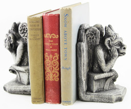 Gargoyle Concrete Bookends  - £46.80 GBP