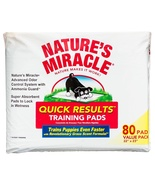 Nature's Miracle Quick Results Training Pads fo... - $35.64