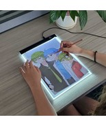 A4 Level Dimmable Led Drawing Copy Pad Board Children's Toy Painting Edu... - $23.76+