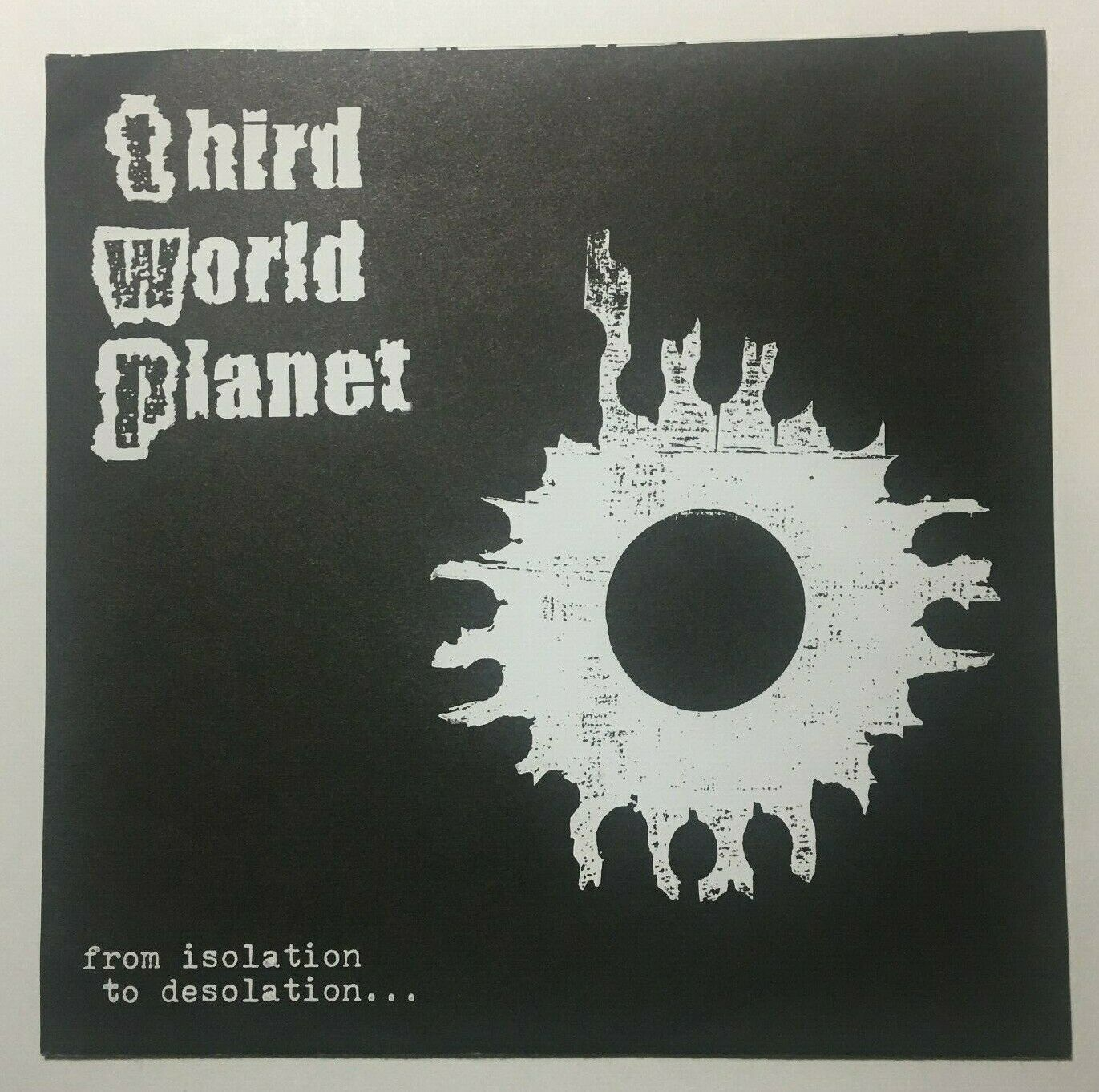 "Primary image for Third World Planet - de Aislamiento a Desolation 7"" 45RPM Record Punk 1997"