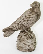 Small Raven Concrete Statue  - $64.00