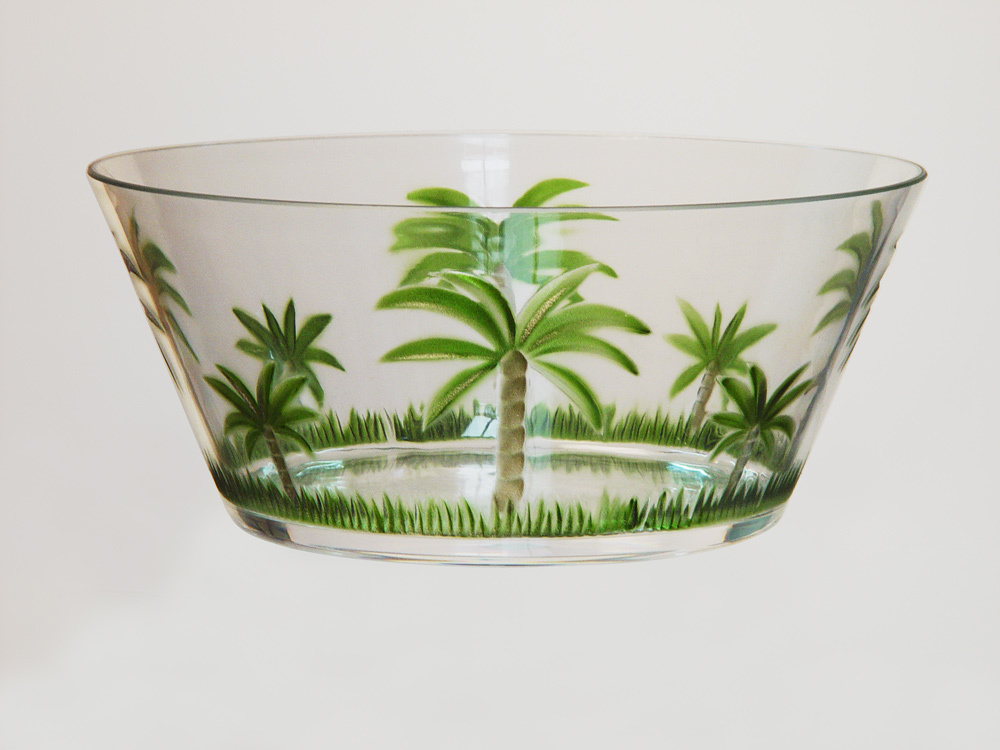 Palm Tree Classic Series Large Bowl!!!