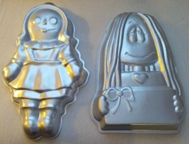 2 Novelty Cake Pans - Raggedy Ann - Cathy - Retired … - $14.99