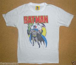 New Authentic Junk Food DC Comics Batman with Joker Boys T-Shirt in White - $15.09