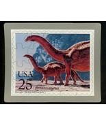 USPS POSTCARD - Dinosaurs Commemorative Puzzle series - BRONTOSAURUS - F... - $10.00