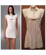 L.A.M.B. GWEN STEFANI  Dress Ivory Cream Knit BodyCon Dress Sz-XS - $93.26