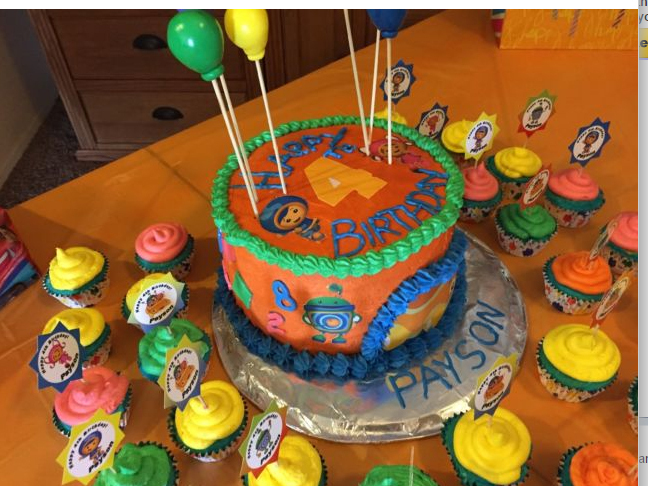 Admirable Team Umizoomi Edible Cake Decorations And 14 Similar Items Personalised Birthday Cards Epsylily Jamesorg