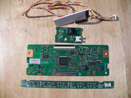 VIZIO E320A0 T-CON P/N6870C-238B/IR SENSORE238400-715G3450-1/BUTTON BD71... - $32.00