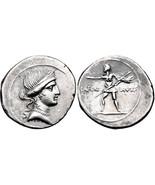 OCTAVIAN AUGUSTUS, 27 BC-14 AD.  DENARIUS GUARA... - $2,187.70