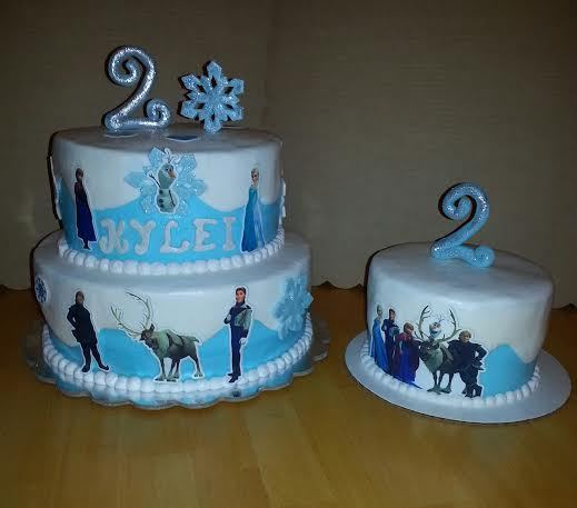 Edible Cake Decorations Frozen : Pre-cut! Disneys Frozen edible cake decorations- Sugar ...